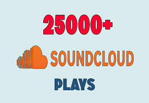 I will provide 25000+ Soundcloud music plays