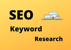 I will do Excellent SEO Keyword Research & Competitor Analysis