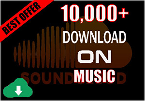 I will give you 10000+ SoundCloud Music Download