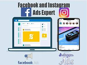 I will be your Facebook and Instagram ads manager