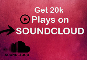 I will promote your SoundCloud music and give you 20k plays on your track