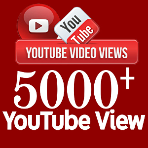 I will provide 5000+ Youtube Views