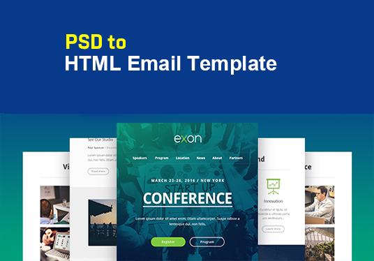 Design Psd to Responsive Email Template