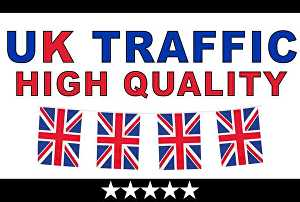 I will Provide 1000+ Per Day UK Website Visitors for 30 Days