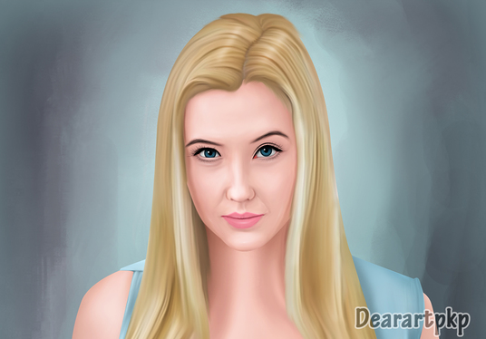 turn your headshot photo into digital oil painting
