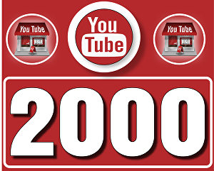 I will Give 2,000 High  Retention YouTube Views