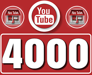 I will Give 4,000 High  Retention YouTube Views