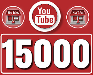 I will Give 15,000 High  Retention YouTube Views