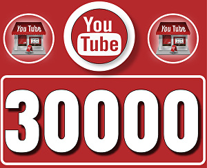I will Give 30,000 High  Retention YouTube Views