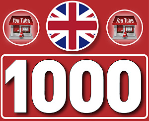 I will Give 1,000+ UK High  Retention YouTube Views