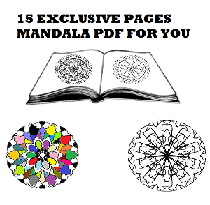 I will design 15 exclusive mandalas pdf for your Kids coloring book