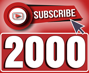 I will Add 2,000+ Youtube subscribers