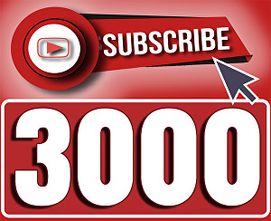 I will Add 3,000+ Youtube subscribers