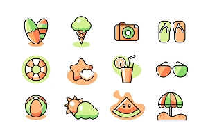 I will design awesome line icon for website