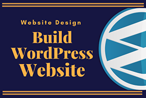 I will do professional responsive wordpress website design