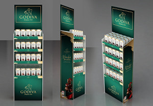I will do Point of Purchase & Sale display stand