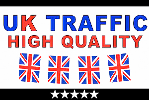 I will Get UK Website Genuine Traffic