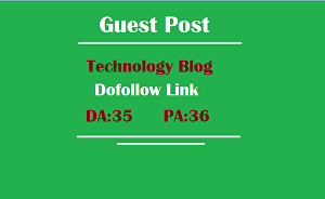 I will write and publish a guest post on dofollow technology blog