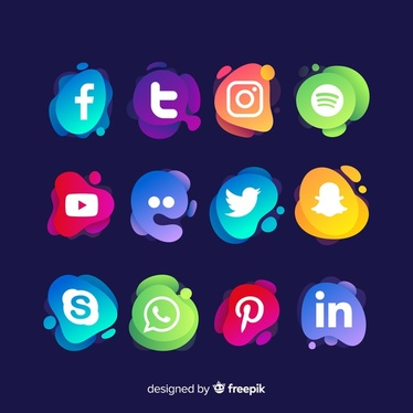 set up 5 social media profiles for your Business