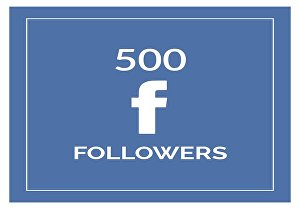 I will add Real 500+ Facebook profile Followers