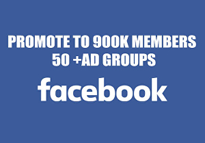 I will promote your Business, Product or Website to 50+ Advertising & Marketing groups with 9