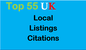 I will list your local business details to the 55 top UK citations sites to boost your Google pla