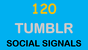 I will provide you 120 Tumblr Seo Siganls Powerful Social Bookmark Backlinks Signals for Google r