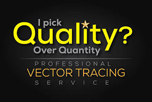 I will vector trace, vectorize, convert logo to vector