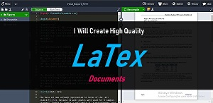 I will create high quality latex documents