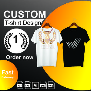 I will create custom T shirt design