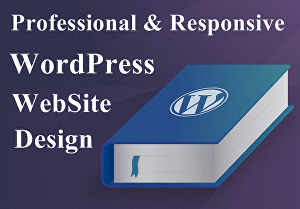 I will create a Responsive WordPress website design or blog