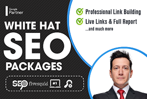 I will do white hat SEO package and explode your ranking