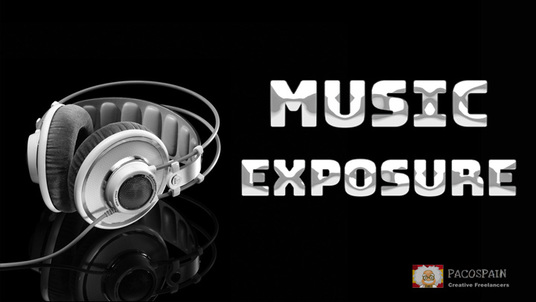 Expose your music all over the internet