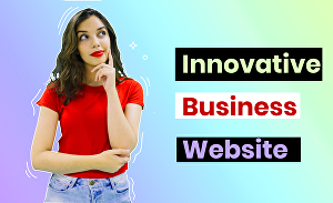 I will provide innovative website for business