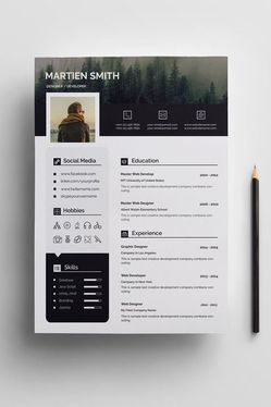 do professional resume design and CV design in ms word