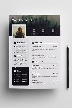 I will do professional resume design and CV design in ms word