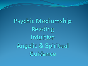 I will answer your questions with psychic mediumship reading