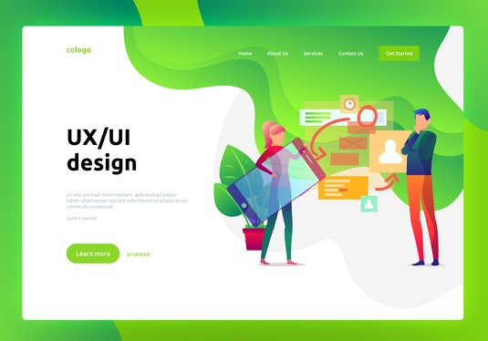 Design the complete experience or UI / UX for your website or mobile app