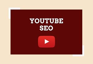 I will do the best YouTube SEO to  improve your video ranking