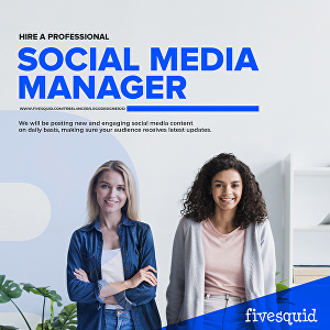 I will be your Social Media Manager & Personal Assistant