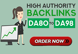I will make high authority quality SEO backlinks