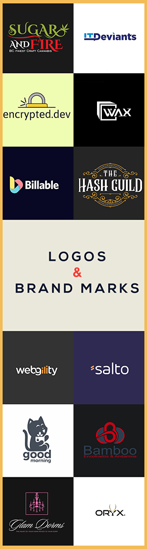 I will do logo design and branding
