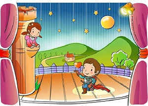 I will design children book illustration in high quality