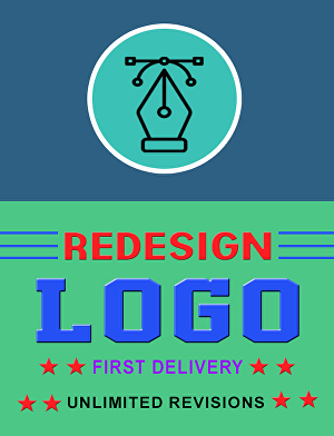 I will Logo Redesign, New Logo
