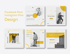 I will design creative Facebook post, Instagram post, social media post