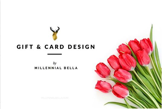 design gift card, coupon and gift voucher
