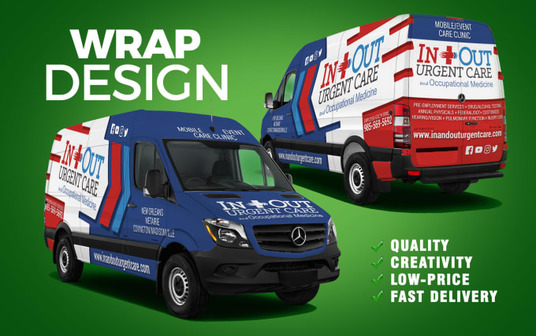 design vehicle wrap, car wrap, truck wrap