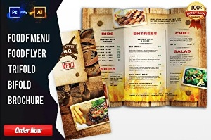I will design food menu, restaurant menu