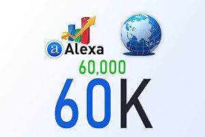 I will increase your Global Alexa Ranking up to 800-60K