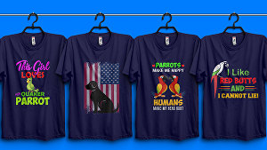 I will do custom  t shirt design bundle for your pod business